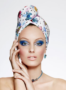 UV Protective Hair Turban - AGLIQUE MAY