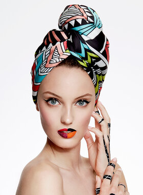 UV Protective Hair Turban - AGLIQUE SOUTH