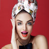 Hair Drying Turban-AGLIQUE MADEMOISELLE-satin finish